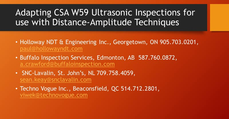Sa-W59 Ultrasound Inspection