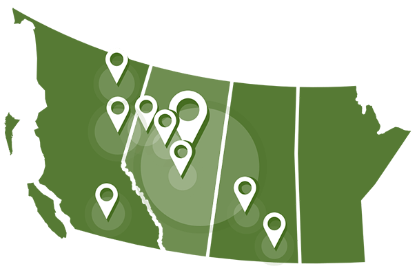 Buffalo Offices Map