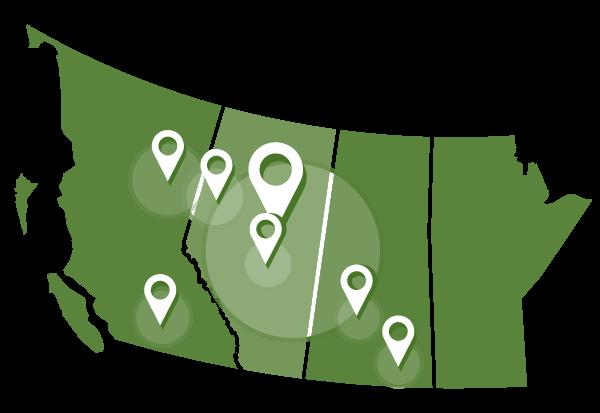 Buffalo Offices Map