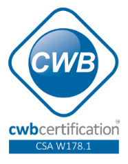 CWB certification - CSA W178.1